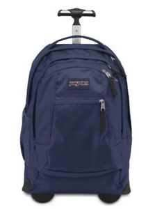 Jansport Driver 8 Rolling Backpack Navy New with Tags