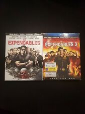 The Expendables 1 & 2 (Blu-ray/DVD)