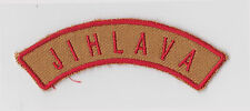 SCOUTS OF CZECH REPUBLIC - CZ JIHLAVA SCOUT CURVED SHOULDER PATCH