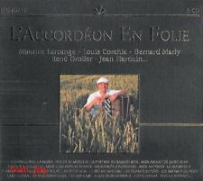 L'ACCORDEON EN FOLIE /*/ COFFRET 5 CD ACCORDEON NEUF/CELLO