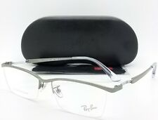 3ee63d39d81 Ray Ban Rx8746d 1000 Gunmetal   Demo Lens 55mm Eyeglasses