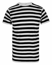 Kids Red And White Stripe Short Sleeve T-Shirt Children Book Week Fancy Top