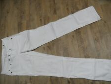 G-STAR coole Jeans 3301 Straight creme Gr. 27/34  KB917