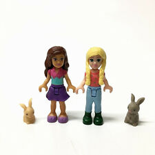 MEGA BLOKS My Life As Summer Camp Adventure mini doll figure & Rabbit pets toy