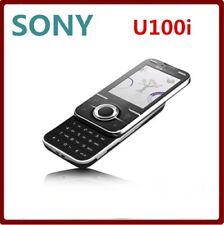 Sony Ericsson Yari U100i - Black (Unlocked) multilingual classic slider phone