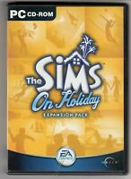 (GW130) The Sims: On Holiday expansion pack - 2002 Game CD