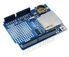 Shield data logger SD card DS1307 RTC real time clock - arduino