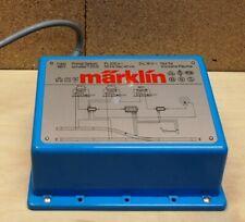 Märklin H0, Transformator / Trafo mit der Nr. 6611 mit 40 VA, blau
