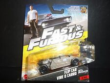 Hot Wheels Flip Car Vire O Carro Fast and Furious 1/55