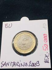 1 euro BU Saint Marin 2009