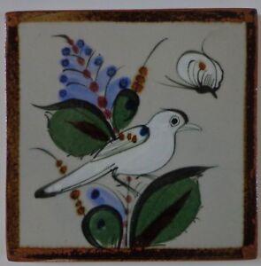 Mexico Méxicain Pottery Céramique Tuiles Paloma Artiste