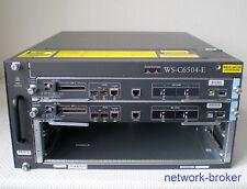 Cisco Switch Bundle WS-C6504-E +2 x VS-S720-10G Redundante SE Fan Tray  2x PSU