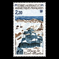 "TAAF 1985 - Port Martin Base ""Adelie Land"" Architecture - Sc 116 MNH"