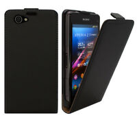 Sony Xperia Z1 Compact D5503 Tasche Schutz Hülle Case Etui Cover Handy