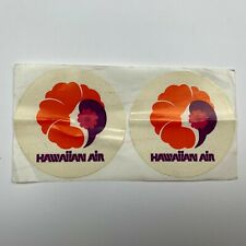 RARE Hawaiian Air Airlines 2 Stickers Pack NEW Pualani Aviation