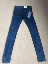 NEW Women's Lee Toxey Super Skinny Stretch Deluxe Tube Jeans W26 L33 (1093)