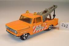 Majorette 1/80 Dodge Abschleppwagen Wreck Truck Service #263