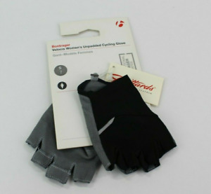 Trek / Bontrager Velocis Woman's Unpadded Cycling Glove Black/Grey Size S