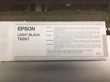 T6067 GENUINE EPSON LIGHT BLACK 220ml EMPTY INK