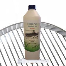 Backofenreiniger & Grillreiniger 1 Liter Gastro Plus mit proWIN Pinsel ANGEBOT