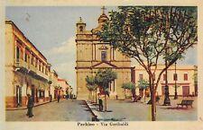 2319) PACHINO (PALERMO) VIA GARIBALDI. VIAGGIATA NEL 1952.