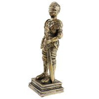 Resina d'epoca Soldato romano Statuetta Statua Living Room Home Decor Regalo