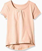 Girls Summer Shirt Short Sleeve Tropical Peach  S, M, L, XL  Children's Place