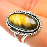 Labradorite 925 Sterling Silver Ring Size 8 Ana Co Jewelry R44096F