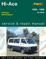 Toyota Hi Ace  Repair Manual 1983-1989