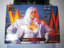 CARTE MARVEL MASTERPIECES GOLD FOIL SERIES 1994 N°136 WHITE QUEEN MINT CARD BASE