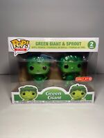 Funko Pop! Ad Icons Metallic Green Giant And Sprout 2 pk Target Exclusive Debut