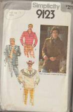 Vintage Simplicity Sewing Pattern 9123 Men Fridge Top Jacket Sz 44 Father's Day