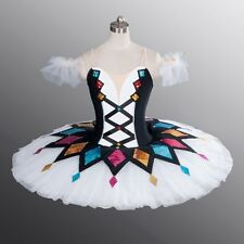 Professional Ballet Tutu Harlequinade Colombina Doll Costume XS Bust 28-31.5