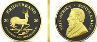 Krügerrand 2020 - 1 Rand Münze Silber Farbe Ruthenium