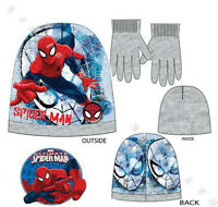 MICKEY MOUSE / SPIDERMAN Toddlers Boys 2pcs SET Winter Hat and Gloves