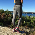 Womens Gym Full Length Tights Workout Yoga Running Ladies Fitness Sports Spandex