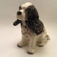 Vintage Porcelain English Springer Spaniel Dog Figurine Japan Bone China