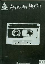 American Hi Fi Recorded Versions guitar tab songbook