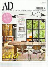 AD  ARCHITECTURAL DIGEST,  ABRIL, 2014   NO. 90  ( LAS MEJORES CASAS DEL MUNDO )