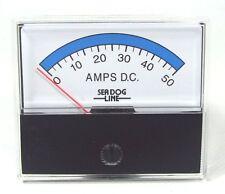 421525 Sea-Dog Line Analog 0-50 Amp DC Meter Requires 50MV/50A shunt 132-1185