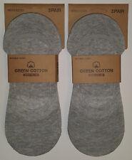 6 pares calcetines invisibles pinkis de vestir. 95% Algodon. Gris. Talla 40/46