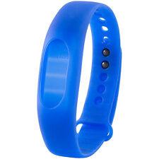 Armband mit Fitnessuhr: Armband, blau, zu Fitness-Tracker FT-100.3D