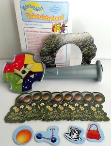 Lot of Parts Teletubbies Game Teletubbyland  Milton Bradley - Parts only -