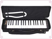 Woodnote Black 37 Key Melodica / Carrying Case
