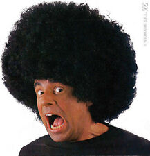 Perruque Noire Maxi Big AFRO DISCO Déguisement Adulte Homme Hippie année 1980