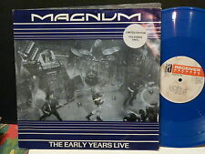 """MAXI 12"""" MAGNUM The early years live Blue vinyle REPLAY 3015"""