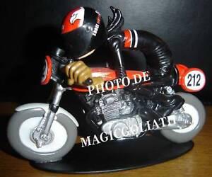 Figurine Joe Bar Team HONDA 350 CB Kitée Racing moto sportive course championnat