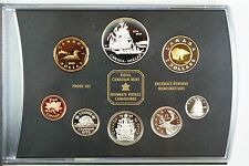 1999 Canada 225th Anniversary 8 pc. Proof Set w/Box & COA