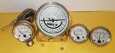 Tachometer & Gauge Set fits JOHN DEERE TRACTOR 50,60 - WHITE FACE