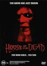 House Of The Dead 1 & 2 DVDs